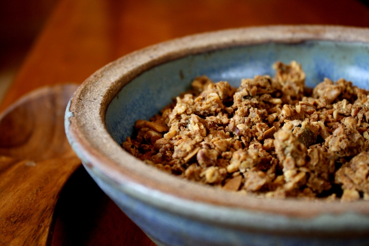 Soaked pumpkin granola