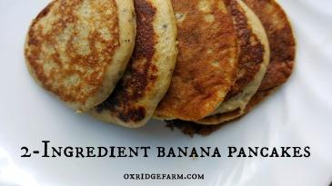 banana pancakes title